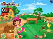 Dora pracuje na farmie
