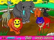 Gra Zoo Kolorowanka