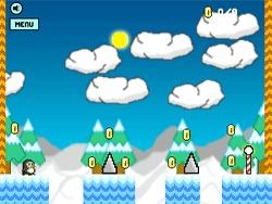 Skaczący pingwinek