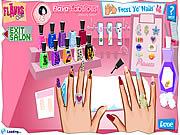 Manicure studio paznokci online gra