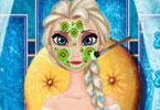 Elsa piękny makijaż