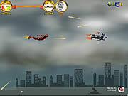 Bitwa powietrzna bohaterów Ironman\'a