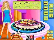 Czekoladowe ciasto od Barbie