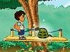 Diego w lesie
