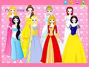 Gra z księżniczkami Disneya online