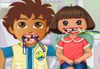 Dora i Diego u dentysty
