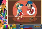 Malowanka z Pinokiem online