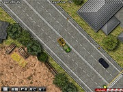 Transport drewna ciężarówką