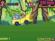 Dora i jazda autem