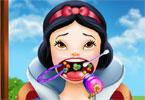 Królewna Śnieżka u dentysty