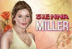 Sienna Miller makijaż