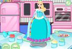 Tort w kształcie Elsy