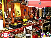 Gra Ukryte przedmioty w warsztacie
