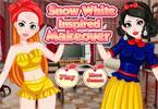 Makijaż Królewny Śnieżki