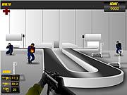 Atak wroga na lotnisku