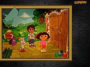 Puzzle Dora z Diego i Butek