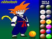 Dragon Ball: kolorowanka online