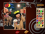 Gra kolorowanka Dora i Diego dla dzieci