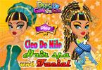 Cleo de Nile makijaż