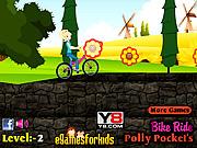 Polly Pocket na rowerze