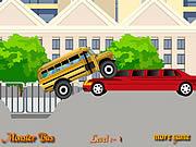 Monster Truck autobus szkolny
