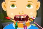 Mały Johny u dentysty