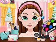 Świąteczny make-up