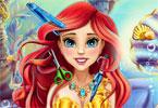 Ariel i jej fryzura