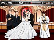 Gra całowanie na ślubie