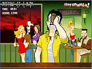 Pijany koleś w barze