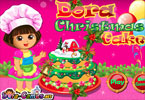 Dora piecze ciasto
