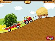 Red Wagon z przyczepą