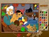 Malowanka Pinokio i Dżepetto