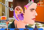 Justin Bieber u laryngologa