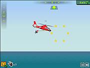 Helikopter karetka straż przybrzeżna