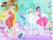 Ubieranka: Fairy i jednorożec