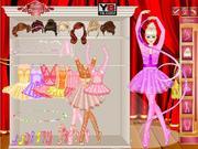 Ubierz baletnicę dla dzieci