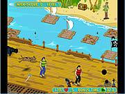 Ucieczka Scooby\'ego przed piratami