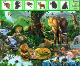 Gra safarii dla dzieci