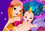 Syrenka i jej dziecko