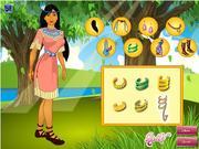 Ubieranka Pocahontas