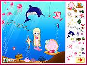 Dekorowanie podwodnego świata Syrenki