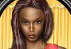 Tyra Banks makijaż