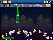 Gra Obrona Krów przed atakiem obcych