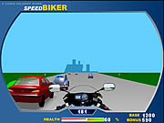 Przygoda szalonego motocyklisty