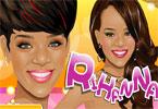 Rihanna makijaż