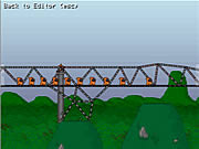 Budowa skalnego mostu
