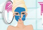 Barbie maseczka na twarz