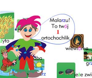 Gra ortograficzna dla dzieci