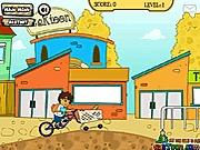 Diego na rowerze przygoda